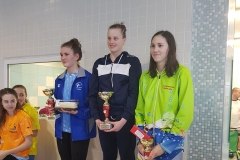 Verča Bláhová 1.místo sprinterský víceboj