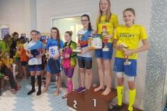 Nadia van Wassem 5.místo sprinterský víceboj